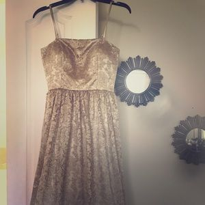Jessica Simpson Dress. Size 2. Gold. New with tags